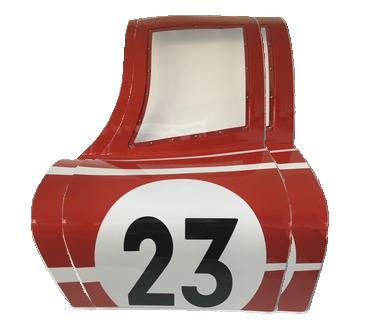 Porte Racing Legend Car 23 rouge - réplique porsche 917