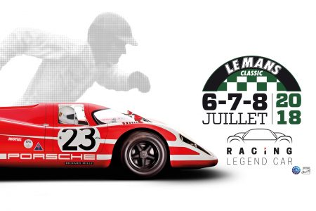 Porsche 917 replica Racing Legend Car Le Mans Classic